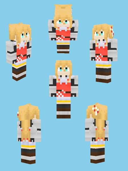 【Minecraft】弦巻マキ:RPG風衣装【マキ誕2017】