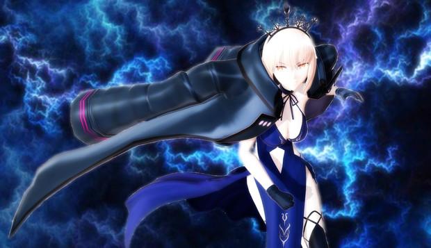 【MMD】FGO アルトリア・ペンドラゴン (オルタ) (ライダー)【モデル配布】