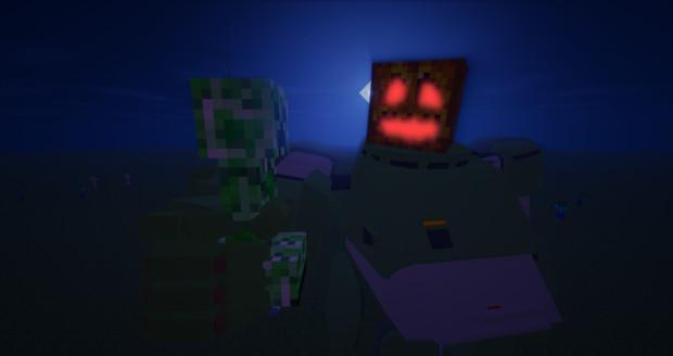 Minecraft」トリック・オア・パンプキン「jointblock