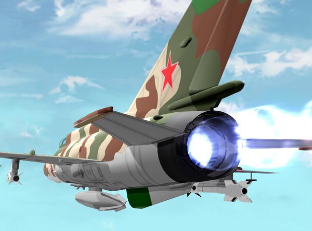 MMD航空祭参加モデル 【Mig-21】配布します