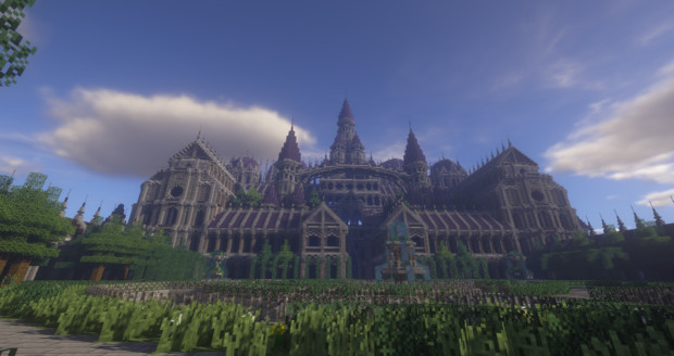 【Minecraft】Antique Chateau【古風の城】
