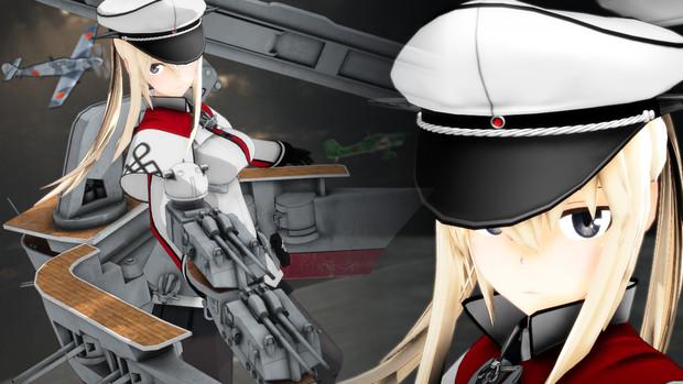 【モデル配布】Graf Zeppelin Ver 1.2【MMD艦これ】
