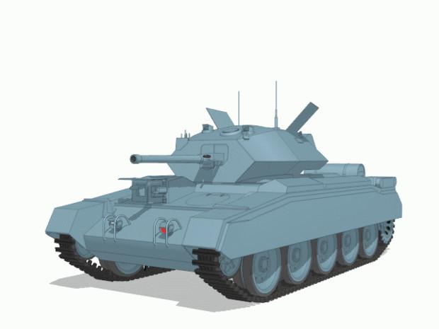 【MMD陸軍】 巡航戦車クルセーダー1.0