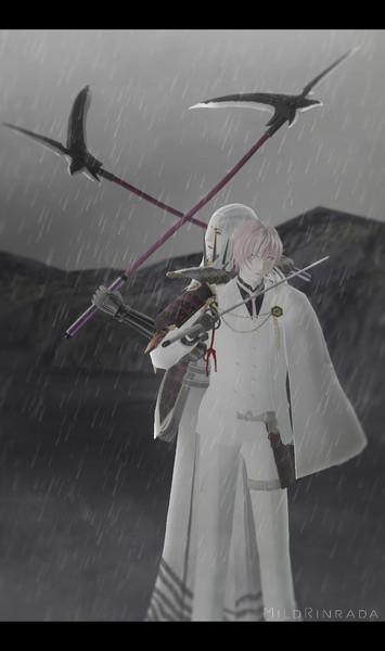 【MMD刀剣BASARA】 明智光秀 & 亀甲貞宗