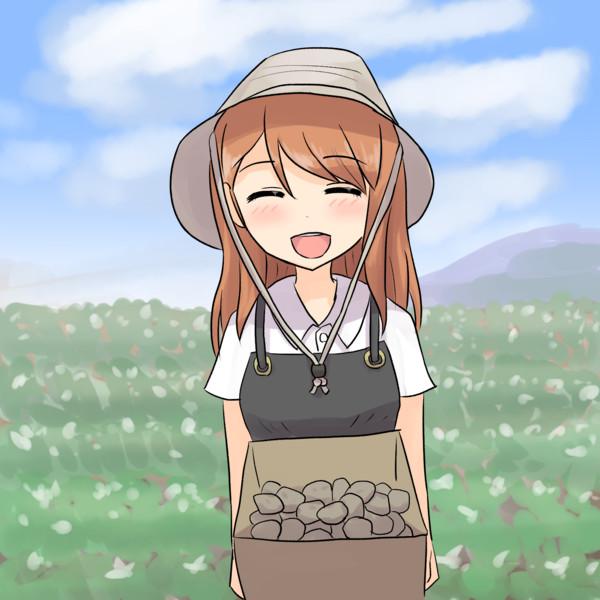 じゃがいも農家の加蓮さん