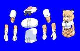 ジャガーマンの腕素材と胸部素材改
