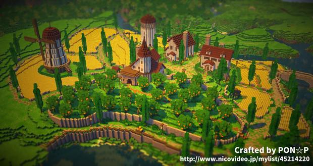 【Minecraft】農業地区