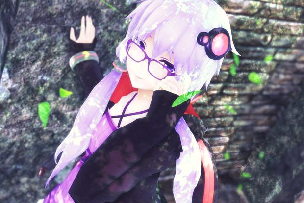 メガネゆかりさん