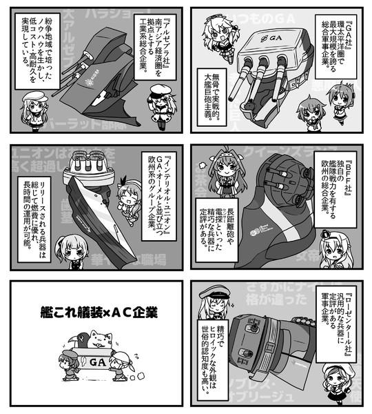 艦これ艤装×AC企業
