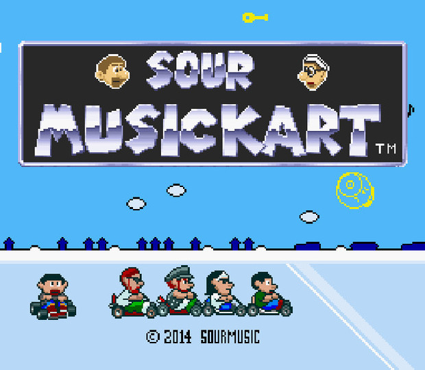 Sour Music Kart タイトル