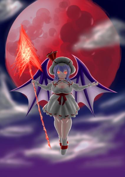 月が紅い夜