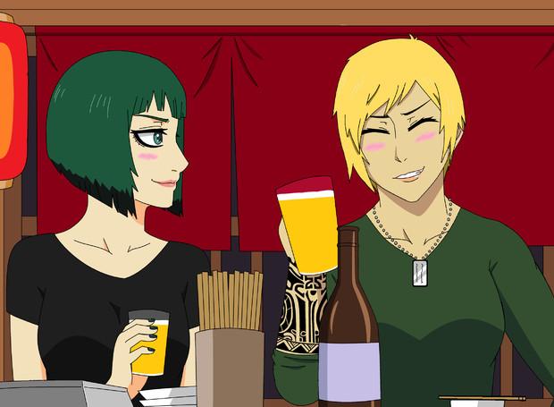 R6Sエラ&ヴァルキリー 飲み