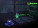 夜の図書室【MMD静物画】