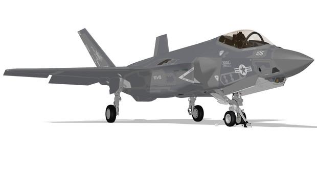 【MMD用】F-35C