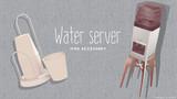 【MMD】ウォーターサーバー&カップスタンド【アクセサリ配布】