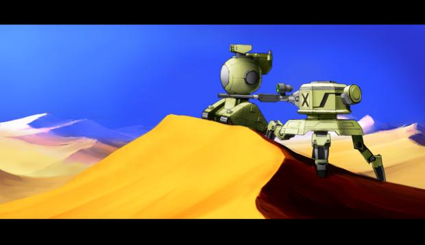 砂漠の狙撃班