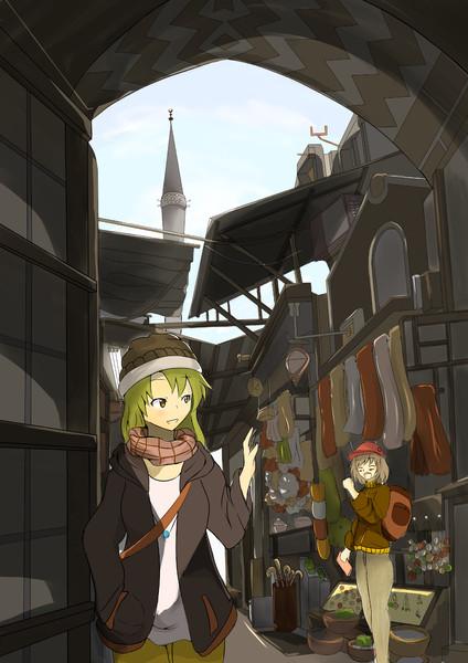 エジプトの町並み