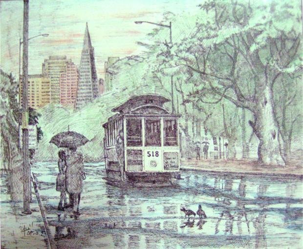 風景:after the rain
