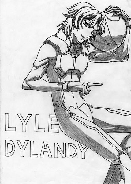 【模写】ライル・ディランディ