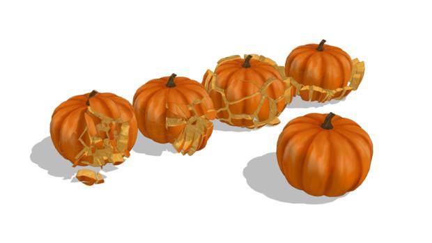【MMDアクセサリ配布】かぼちゃ