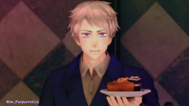 ケーキタイム2「ほらよ。」