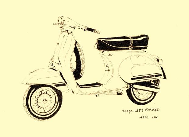 Vespa 125ET3 Vintage