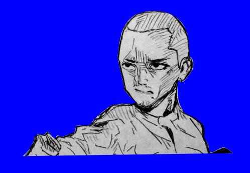 イラストと化した閣下BB.karate