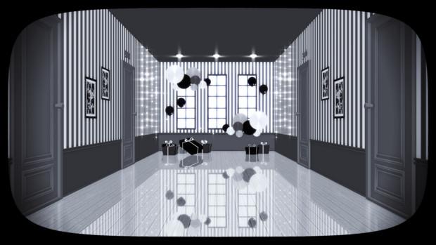 廊下ステージ