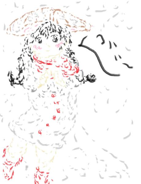 成美を描いたのです。