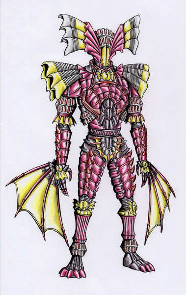 オリジナル怪人/ハロウィンリーパー・バッキャメイル