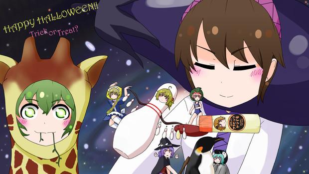 今年も妹ズのハロウィーン!!