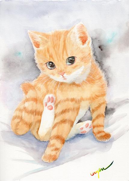 茶トラの子猫 うりゃん さんのイラスト ニコニコ静画 イラスト