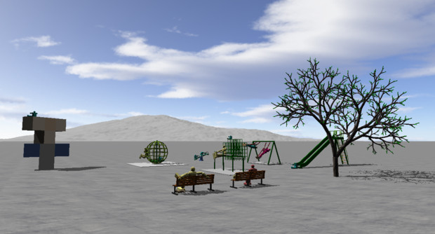 最近の公園