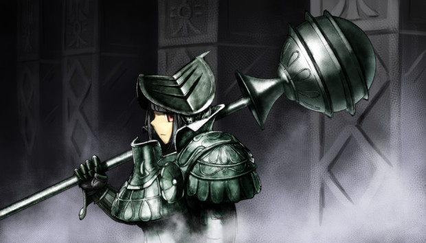 重装女騎士