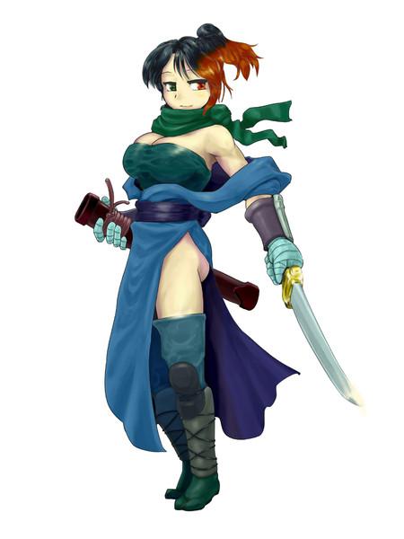 和風ファンタジー女戦士 Yasha さんのイラスト ニコニコ静画 イラスト