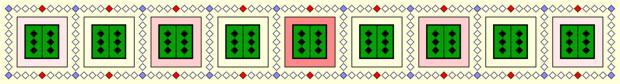 偶数と奇数 Ⅱ (色つき Ⅱ)