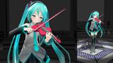 ヴァイオリン弾いてもらった(ポーズだけ)