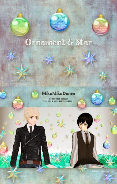 【配布終了】オーナメントと星のアクセサリ