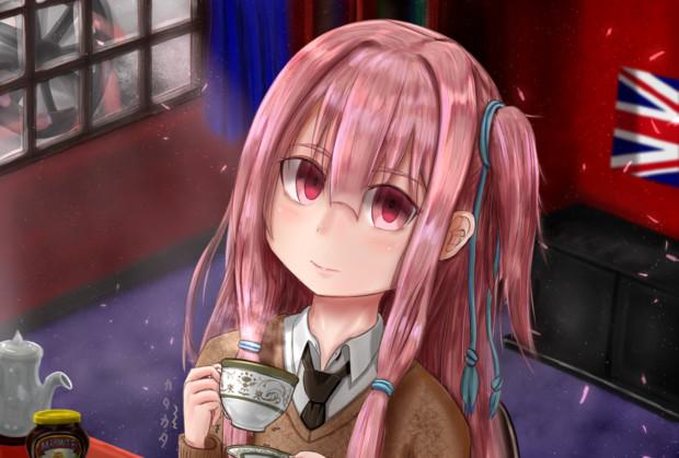 血中紅茶濃度が不足中…