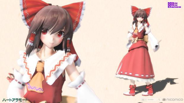 【MMD】ハートアラモード【美少女霊夢Type-0 & L】