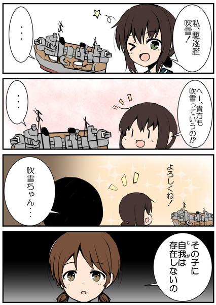 【艦これ】アズレンコラボ漫画