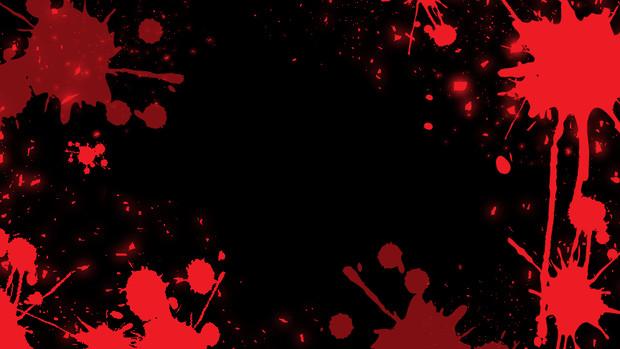 血しぶきのフレーム(背景)