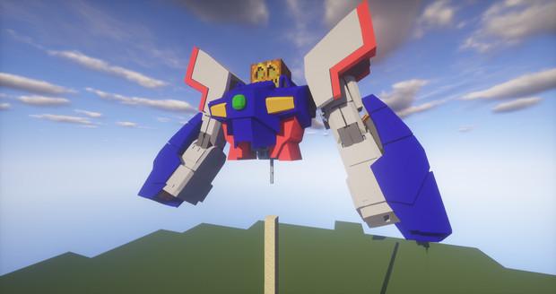 Minecraft」新機体作成中№4「jointblock