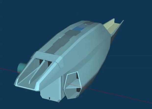 44式WRCV シャムロック:エンジンブロック