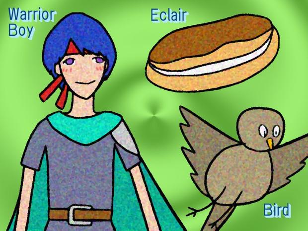 WEB (Warrior-boy, Eclair, Bird)