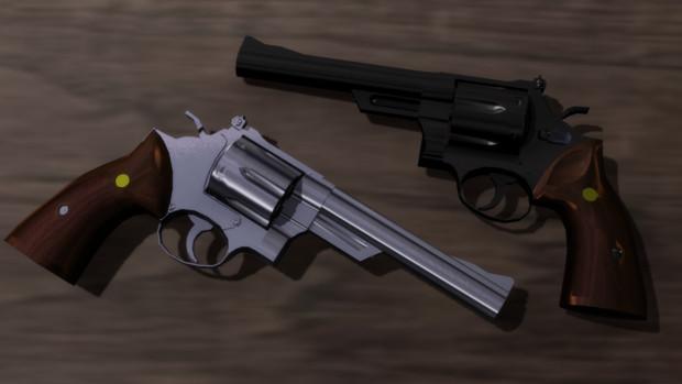【MMD】Smith&Wesson M29 Ver.1.3 【モデル配布】