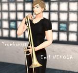 【ユーリ!!!onMMD】トロンボニスト エミル
