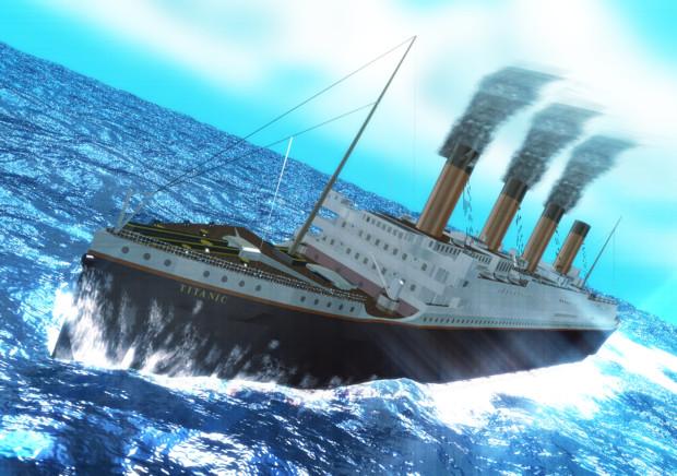 【すいまじ】RMS TITANIC【貨客船】