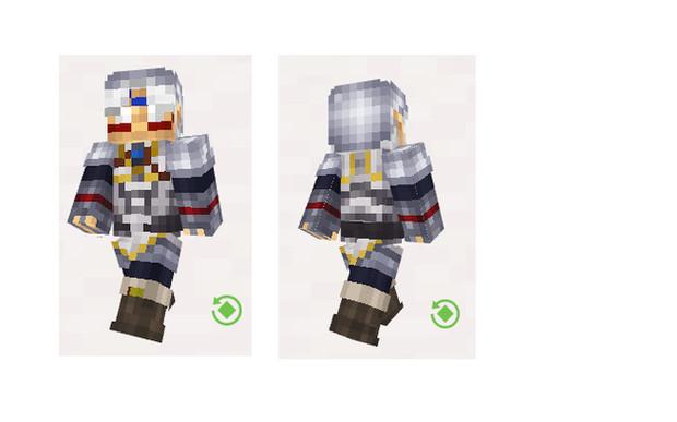 【Minecraft】鬼神リンク スキン プレビュー