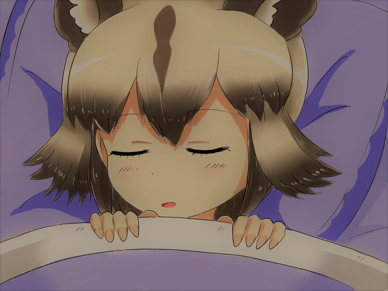 おやすみリカオン